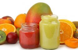 детские фруктовые пюре