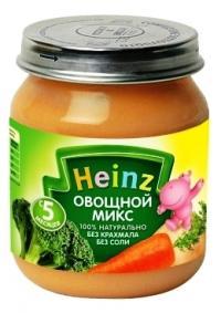 детские овощные пюре