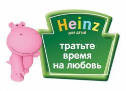 Детские пюре HEINZ