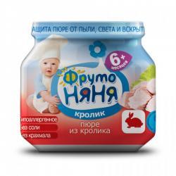 Детские пюре ФрутоНяня