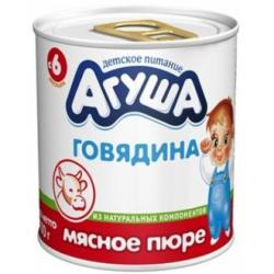 Детские пюре Агуша